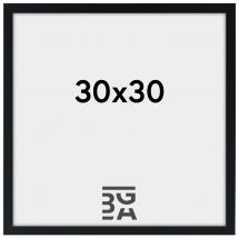 Edsbyn Fotoramme Sort 2E 30x30 cm