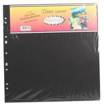 Albumblad Timesaver Gigant - 10 Sorte ark