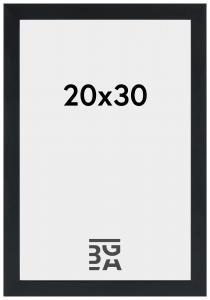 Stilren Billedramme Sort 20x30 cm
