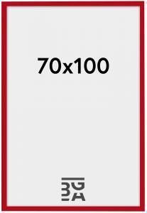 New Lifestyle ramme rød 70x100 cm