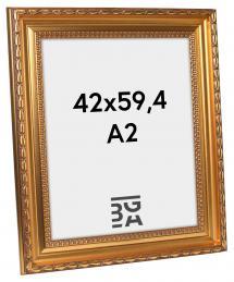 Birka Premium Billedramme Guld 42x59,4 cm (A2)