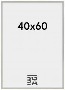 Edsbyn Fotoramme Sølv 2B 40x60 cm