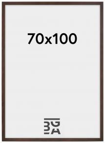 Stilren Billedramme Valnød 70x100 cm