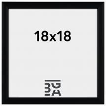 Newline ramme Sort 18x18 cm