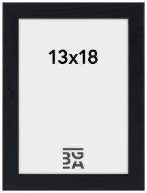 Stilren Billedramme Sort 13x18 cm