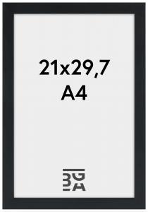 Stilren Billedramme Sort 21x29,7 cm (A4)