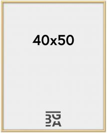 New Lifestyle ramme Guld 40x50 cm
