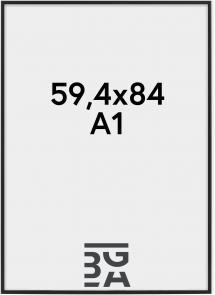 Nielsen Premium Classic ramme Mat Sort 59,4x84 cm (A1)