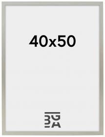 Edsbyn Fotoramme Sølv 2B 40x50 cm
