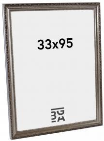 Abisko ramme Sølv PS288 33x95 cm
