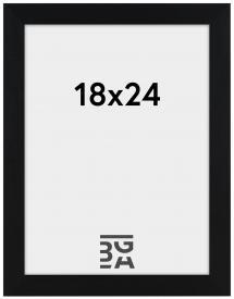 Amanda Box ramme Sort 18x24 cm