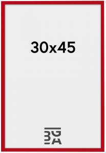 New Lifestyle ramme rød 30x45 cm