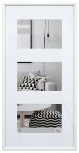Galeria Collageramme Hvid - 3 Billeder (10x15 cm)
