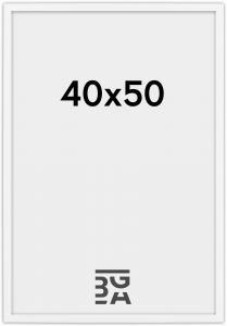 Edsbyn Fotoramme Hvid 2D 40x50 cm