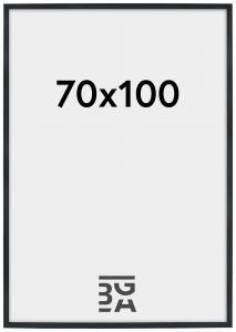 Stilren Plexiglas Sort 70x100 cm