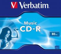 Verbatim CD-R 80 min / 700MB - Jewel Case
