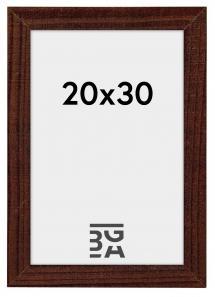 Home ramme Valnød 20x30 cm
