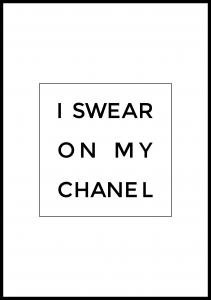 I swear on my chanel