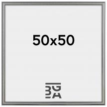 Frigg ramme Sølv 50x50 cm