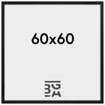 Stilren Billedramme Sort 60x60 cm