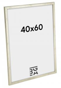 Galant Billedramme Sølv 40x60 cm