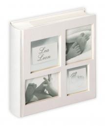 Little Foot Album grå-hvid - 200 Billeder i 10x15 cm