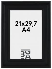 Mora Billedramme Premium Sort 21x29,7 cm (A4)