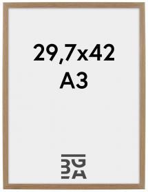 Rock ramme Eg 29,7x42 cm (A3)