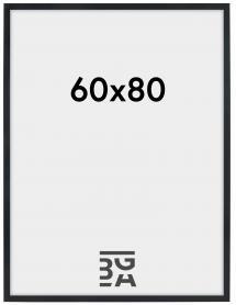 Stilren Billedramme Sort 60x80 cm
