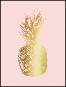 Pineapple Gold 30x40 cm