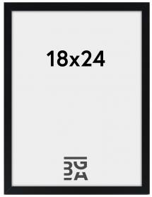Edsbyn Fotoramme Sort 2E 18x24 cm