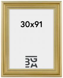 Mora Billedramme Premium Sølv 30x91 cm