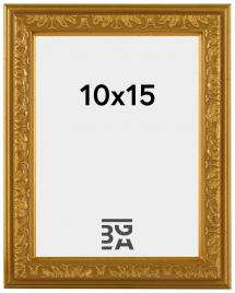 Nostalgia ramme Guld 10x15 cm