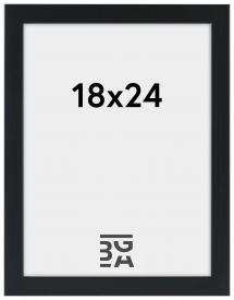 Stilren Billedramme Sort 18x24 cm