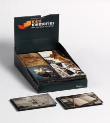 Mini Memories Album Travel 6 varianter - 40 Billeder i 10x15 cm - 36-pak