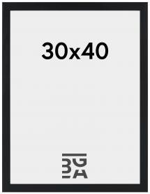 Stilren Billedramme Sort 30x40 cm