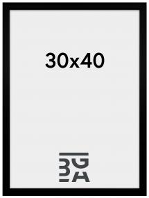 Soul ramme Sort 30x40 cm
