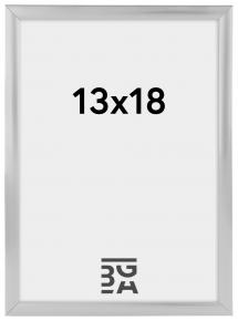 Plakatramme Sølv 13x18 cm