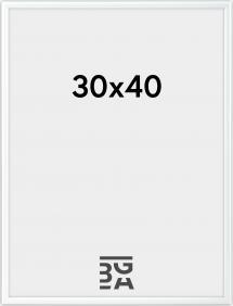 Galeria Billedramme Hvid 30x40 cm