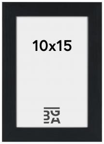 Stilren Billedramme Sort 10x15 cm