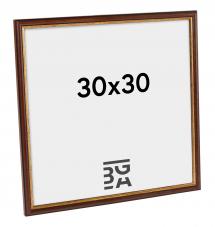 Horndal Brun 7A ramme 30x30 cm