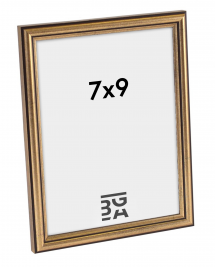 Horndal Guld 7B ramme 7x9 cm