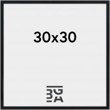Nielsen Premium Alpha ramme Blank Sort 30x30 cm