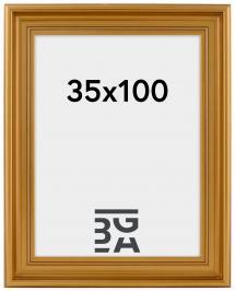 Mora Billedramme Premium Guld 35x100 cm