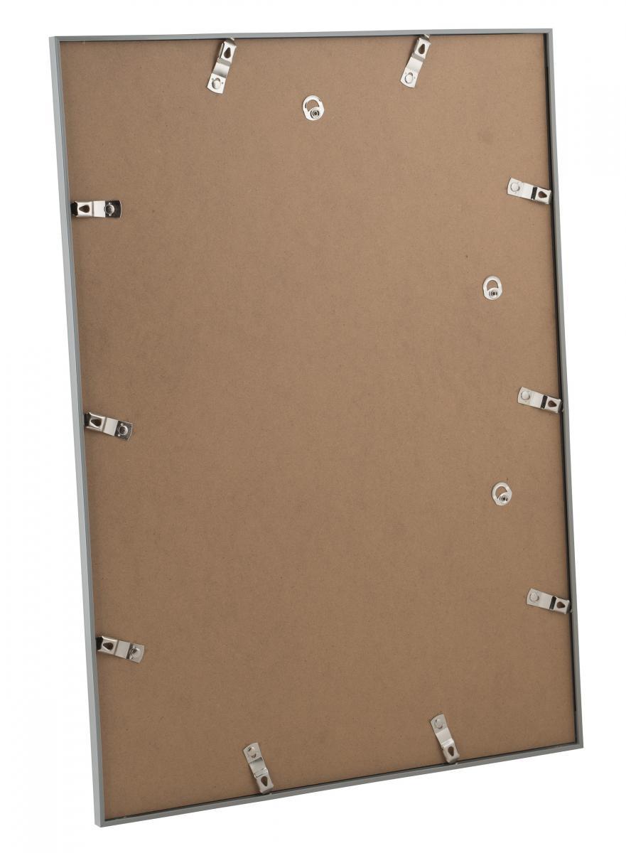 PB22 ramme Sølv 70x100 cm - BGA Nordic