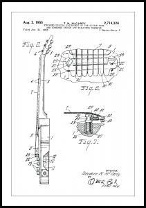Patenttegning - Elguitar II