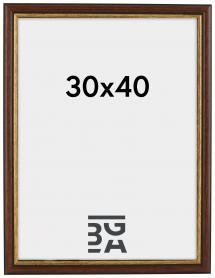 Siljan ramme Brun 8A 30x40 cm