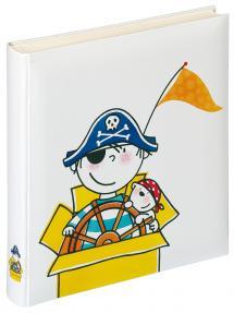 Børnealbum Piratbørnehave - 28x30,5 cm (50 Hvide sider / 25 blade)