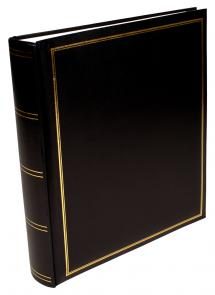 Exclusive Line Maxi Album Sort 30x33 cm (100 Hvide sider / 50 blade)