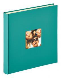 Fun Selvhæftende Grøn - 33x34 cm (50 Hvide sider / 25 blade)